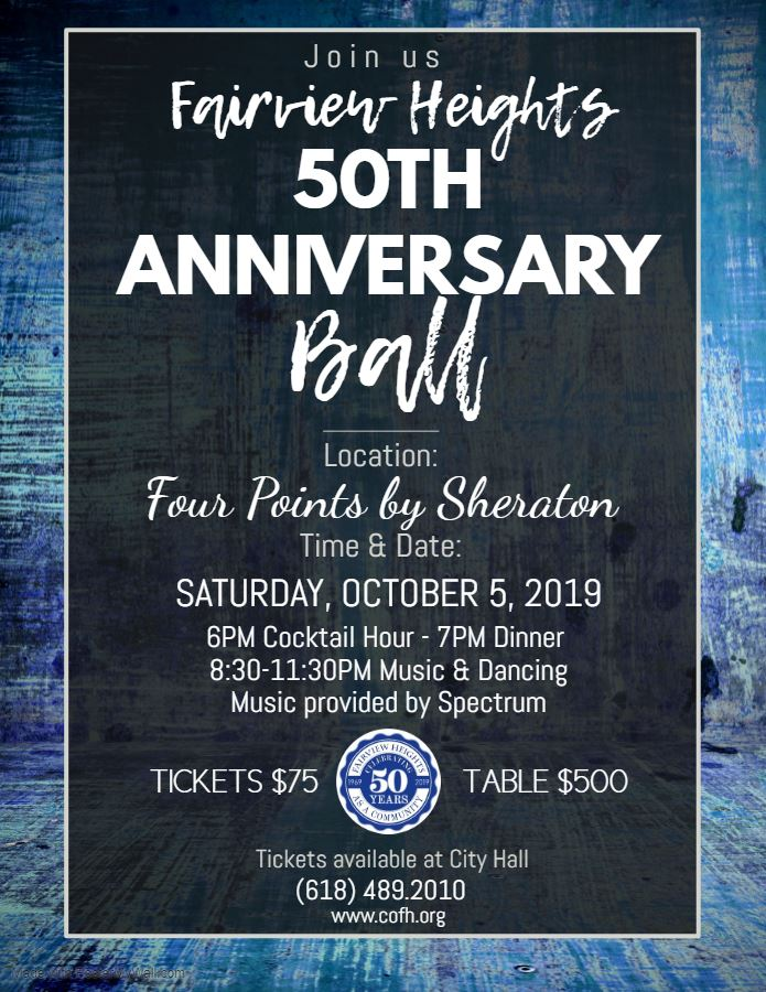 50th Anniversary Ball Flyer